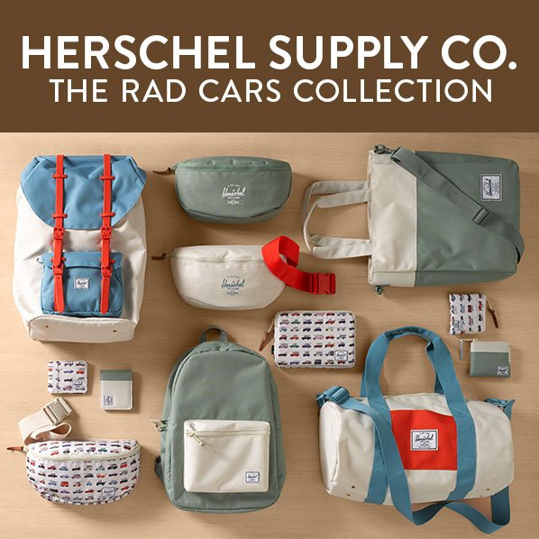 HERSCHEL SUPPLY CO. THE RAD CARS COLLECTION