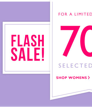 Flash Sale - 70% off