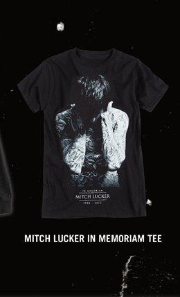 Mitch Lucker in Memoriam Tee