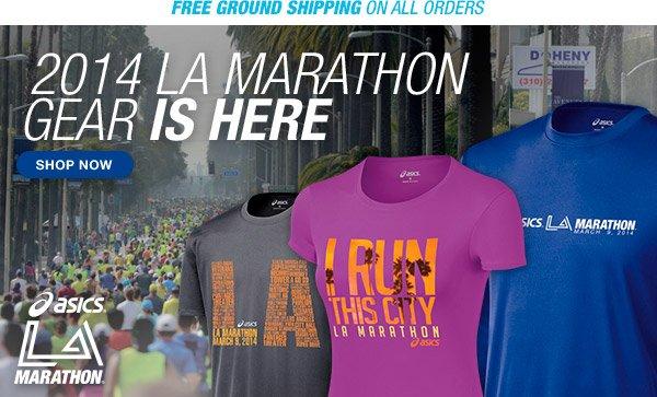 Shop the 2014 ASICS LA Marathon Collection - Hero