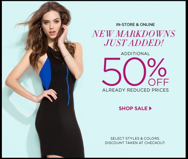 New Markdowns Just Added!