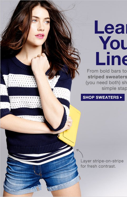 Learn Your Lines | SHOP SWEATERS