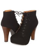 Lace-Up Bootie
