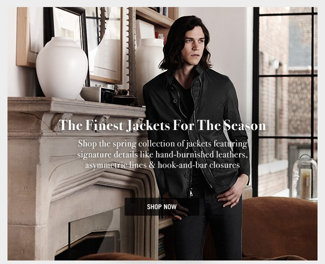 John Varvatos Collection Jackets & Leathers – Shop Now