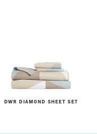 DWR Diamond Sheet Set