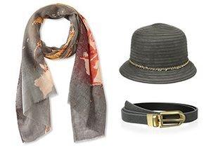 Cool Neutrals: Belts, Hats & More