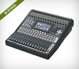 Phonic IS16 16-Channel Digital Mixer with Color Touchscreen