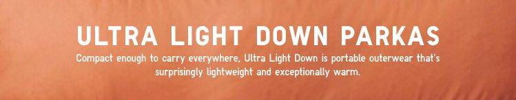 ULTRA LIGHT DOWN