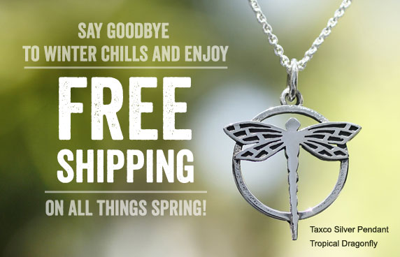 Say Goodbye To Winter Chills And Enjoy FREE SHIPPING On All Things Spring!
