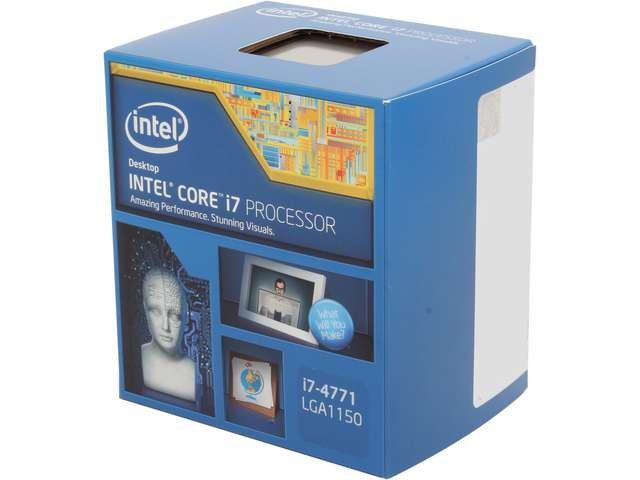 Intel Core i7-4771 3.5GHz (3.9GHz Turbo) LGA 1150 Quad-Core Desktop Processor