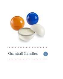 Gumball Candles