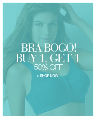 Shop Bra Bogo! Buy 1, Get 1 50% Off