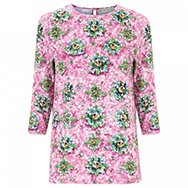 MARY KATRANTZOU - Spellbound printed jersey top