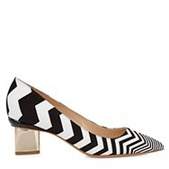 NICHOLAS KIRKWOOD - Zigzag leather pumps