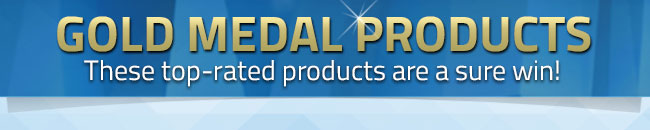 Gold Medal Products - Top Rated Products Are a Sure Win