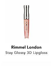 Rimmel London Stay Glossy 3D Lipgloss