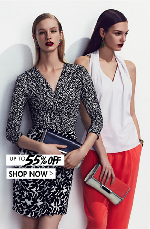 DIANE VON FURSTENBERG UP TO 55% OFF
