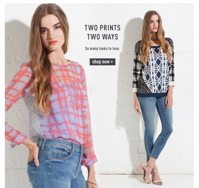 Two Prints Two Ways - Shop Now
