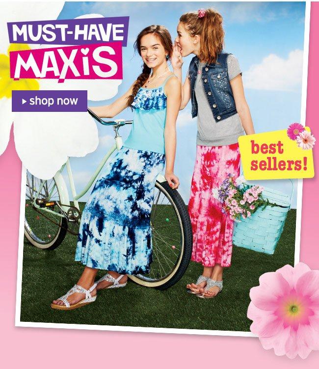 maxi shirts