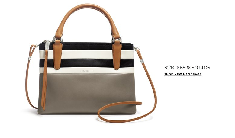 STRIPES & SOLIDS - SHOP NEW HANDBAGS