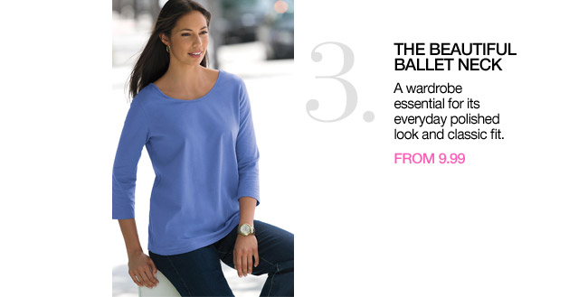 3. the beautiful ballet neck from 12.99 - shop new arrvals
