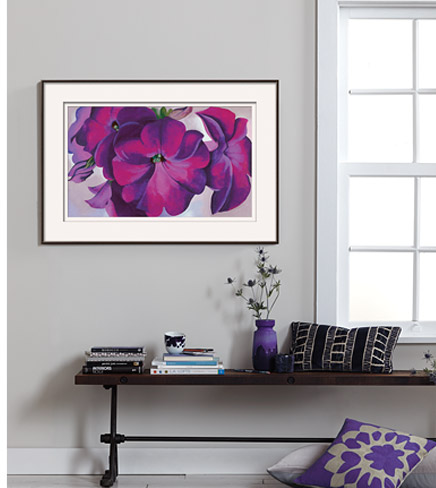 Petunias c1925 By: Georgia O'Keeffe