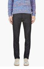 ACNE STUDIOS Blue Ace Raw Denim Gothic Jeans for men
