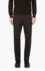 DIESEL Black Slim Lounge Pants for men