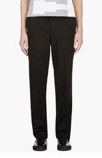 COMME DES GARÇONS HOMME PLUS Black Wool Classic Trousers for men