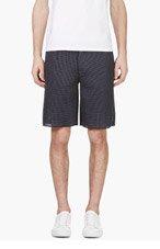 CALVIN KLEIN COLLECTION SSENSE Exclusive Grey Mesh Shorts for men
