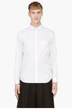 COMME DES GARÇONS HOMME PLUS White Tartan Sleeve Shirt for men