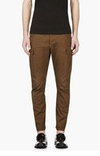 DSQUARED2 Olive Cargo Trousers for men