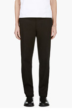 ANN DEMEULEMEESTER BLACK COLLECTION GRISE TROUSERS for men