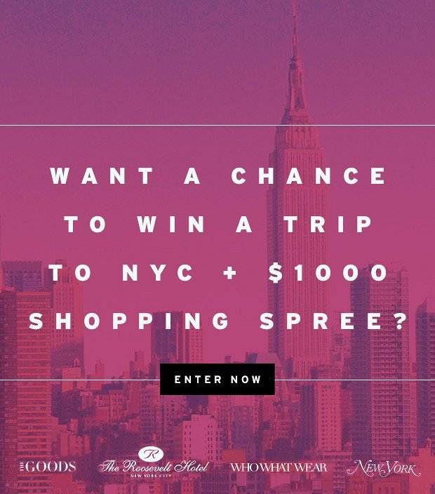 An all-expenses paid trip for 2 to NYC? Here's your chance... [Dedicated]
