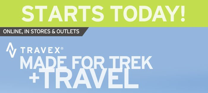 Starts Today! All Travex 25% OFF >