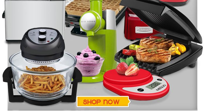 Save BIG on handy appliances and great gadgets for every family. Hurry, quantities are limited! From $9. Shop Now >>