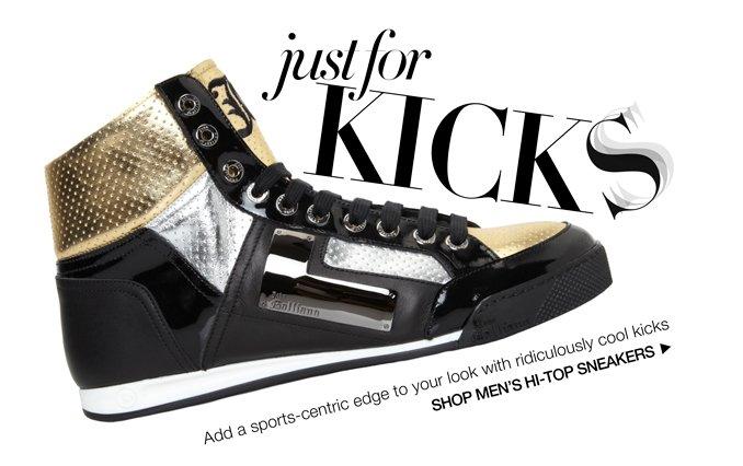 Shop Hi-Top Sneakers - Men.