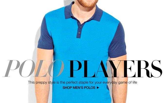 Shop Polos - Men.