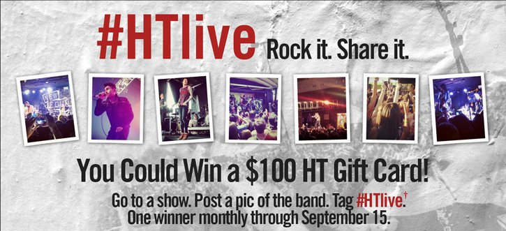 #HTLIVE - ROCK IT. SHARE IT.