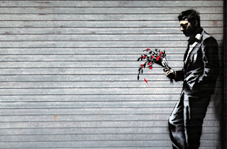 Spotlight of The Day: Banksy Street Art