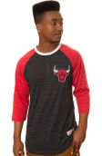 The Chicago Bulls Hustle Play Henley in Red