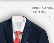 Navy Chatham Windowpane Suit $399