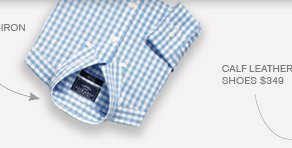 Gingham Non-Iron Shirt $69