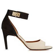 GIVENCHY - Two-tone leather sandals
