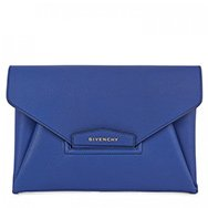 GIVENCHY - Antigona large grained leather clutch