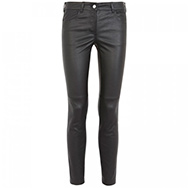 GIVENCHY - Skinny leather trousers