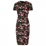 GIVENCHY - Floral jersey dress