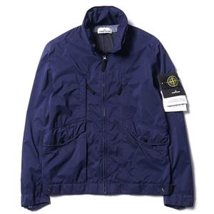 Stone Island Light Micro Ripstop Jacket with Hidden Hood