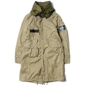 Stone Island Shadow Project Fishtail Parka Ultralight_CO / Pu Resin Treated Featherweight Muslin