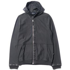 Stone Island Shadow Project Hooded Sweatshirt_Co Felpa Twill Mercerized Zip